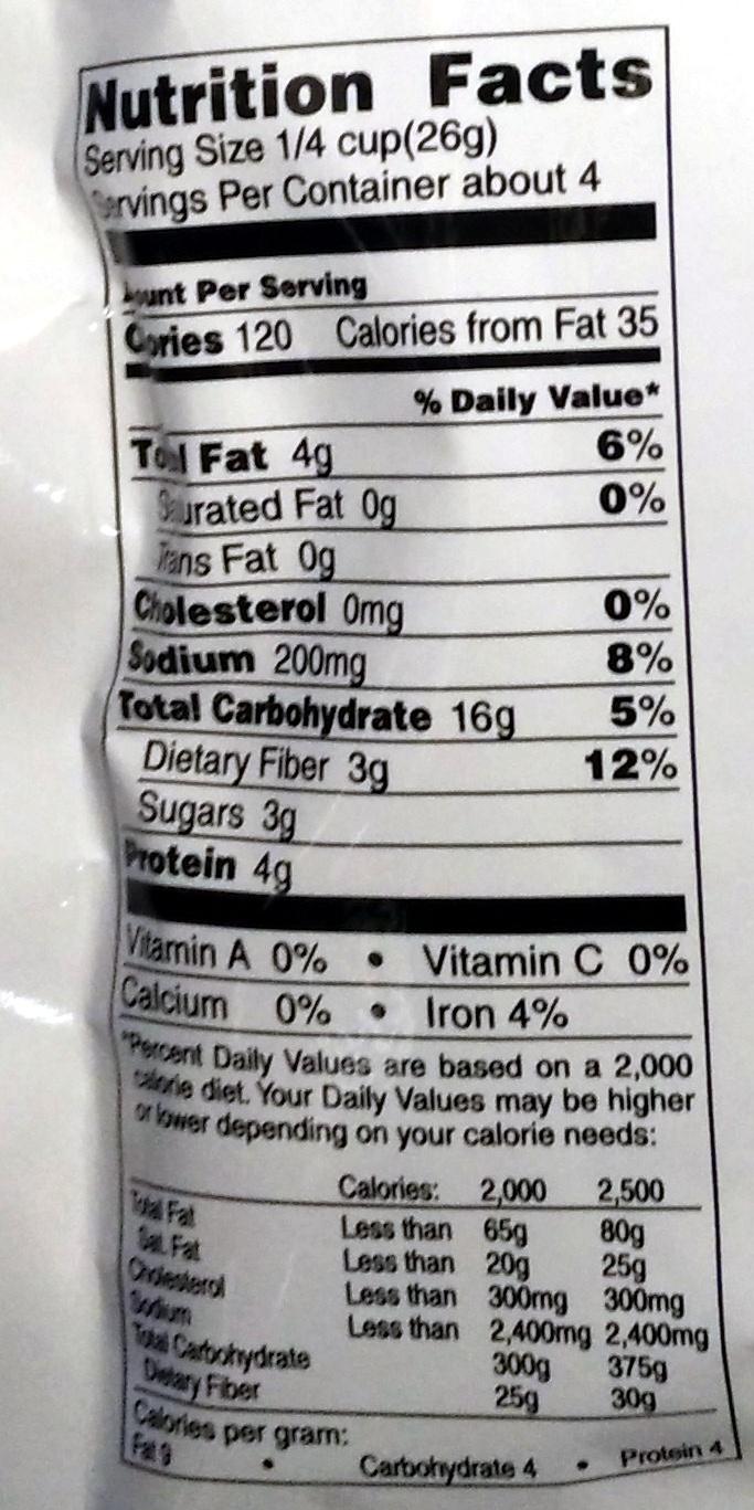 Kasugai roasted Green Peas - Nutrition facts - en