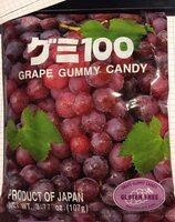Grape gummy candy - Product - en