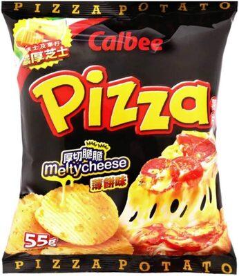 Pizza flavoured potato chips - Product - en