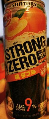 Strong Zéro Saveur Pèche - Product