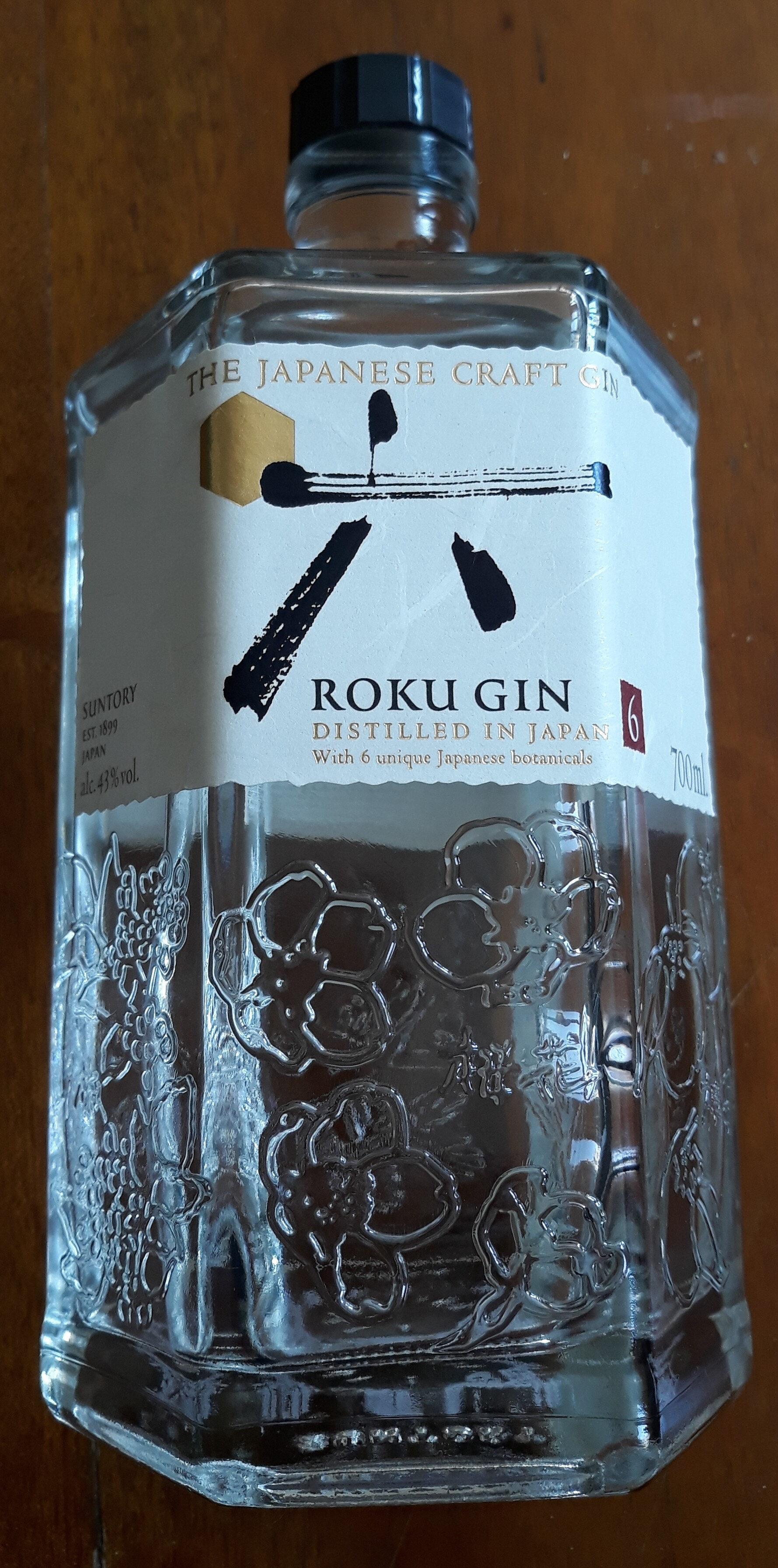 Roku Japanese Craft Gin - Produit - fr