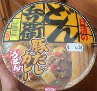 Fideo instantaneo udon curry - Produit - es