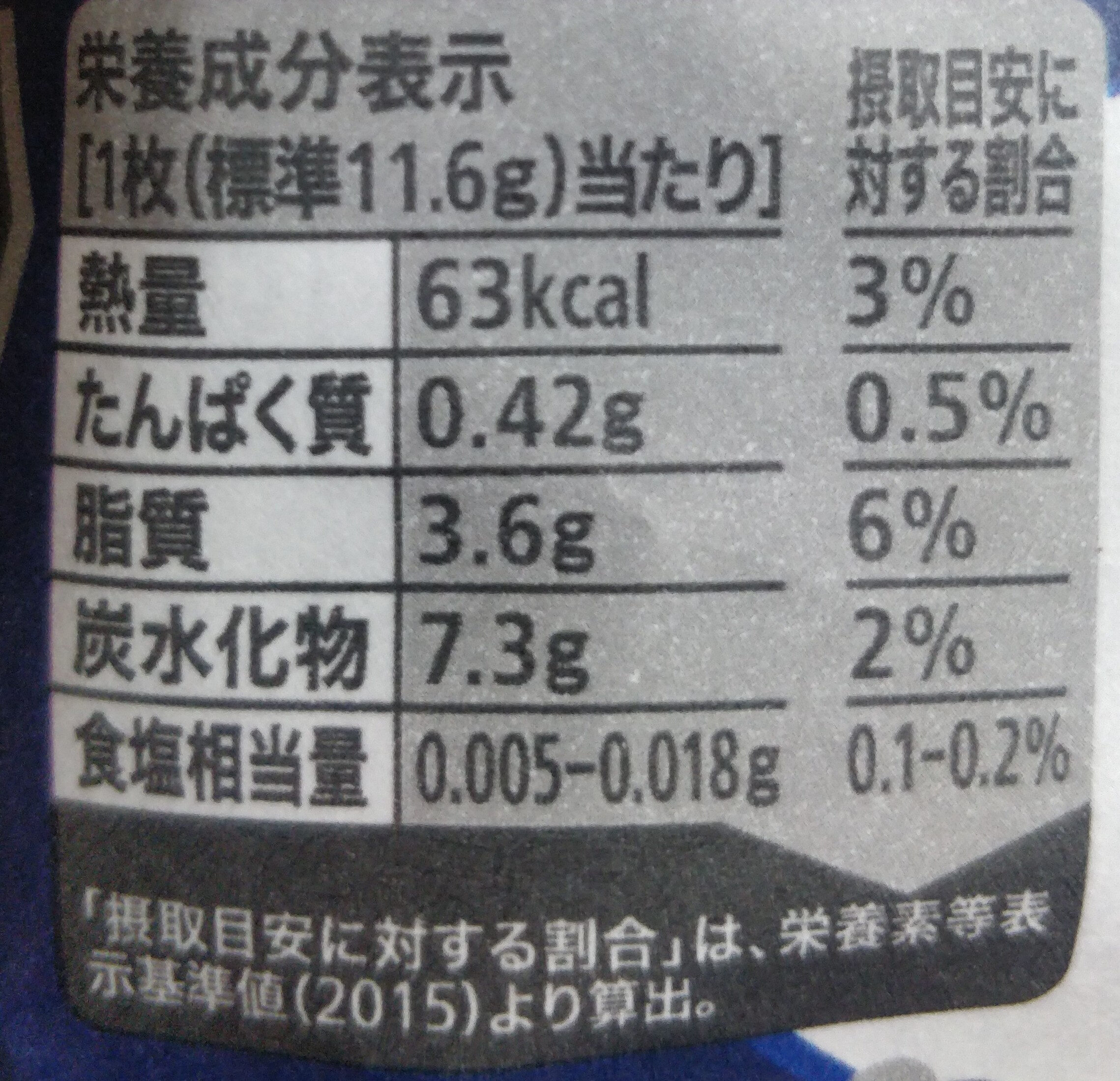 Kit Kat Mini Sakura Sake - Informations nutritionnelles - en