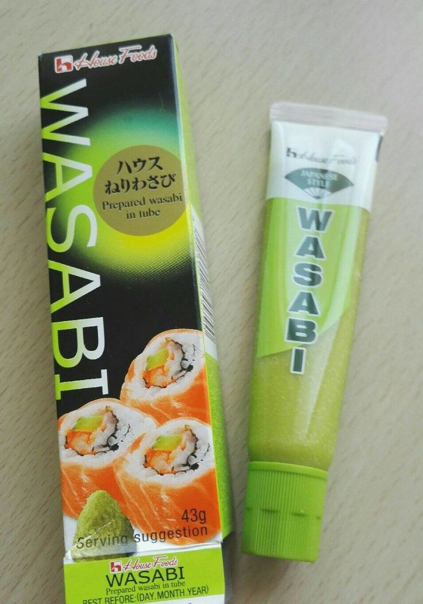 House Foods Wasabi Paste - Produit - fr