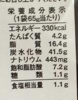 スリラチャソース味 - Voedingswaarden