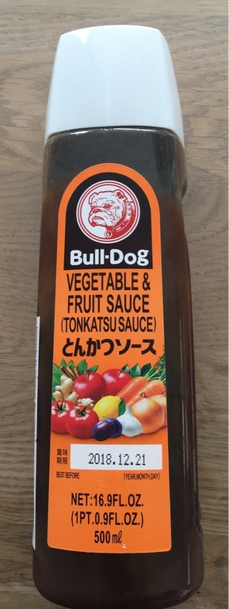 Sauce Tonkatsu - Producto