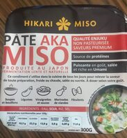 Pâte Miso Enjuku - Informations nutritionnelles - fr