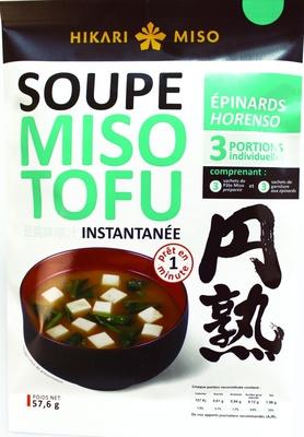 Soupe miso tofu - Produit - fr