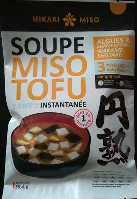 Soupe miso tofu Champignons - Produit - fr