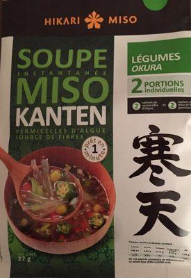 Soupe miso Kanten aux légumes - Produit - fr