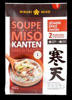 Soupe miso kanten sésame épicé - Produit - fr