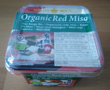 Miso Rouge Biologique - Produkt