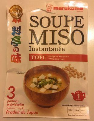 Soupe miso instantanée - Product