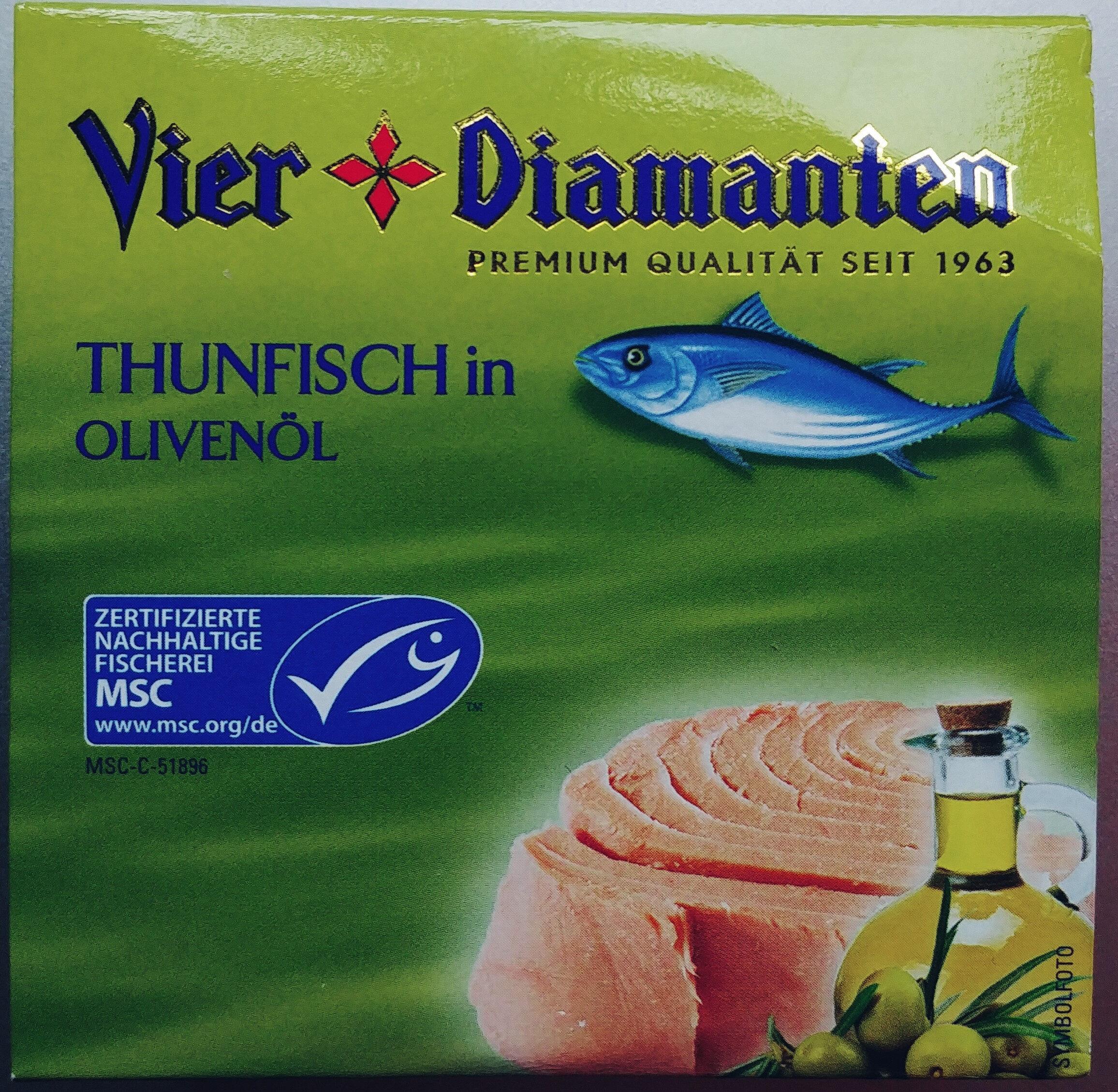 Thunfisch in Olivenöl - Produit - de