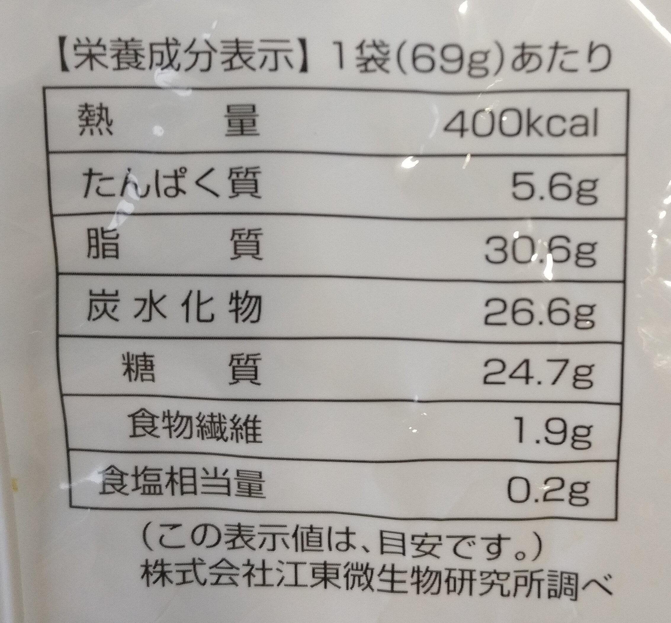 Chocolate Filled Cream Puffs - Voedingswaarden - en