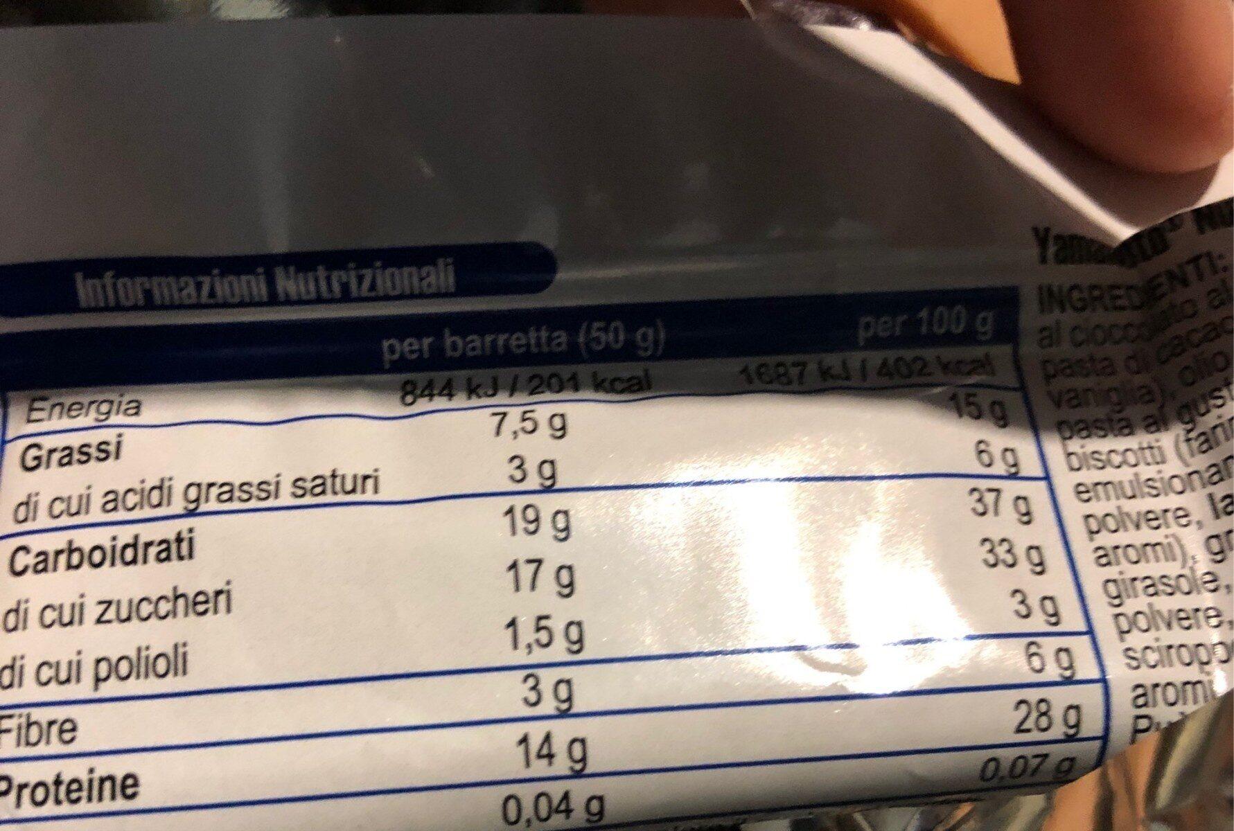 Joseph - Informations nutritionnelles - es