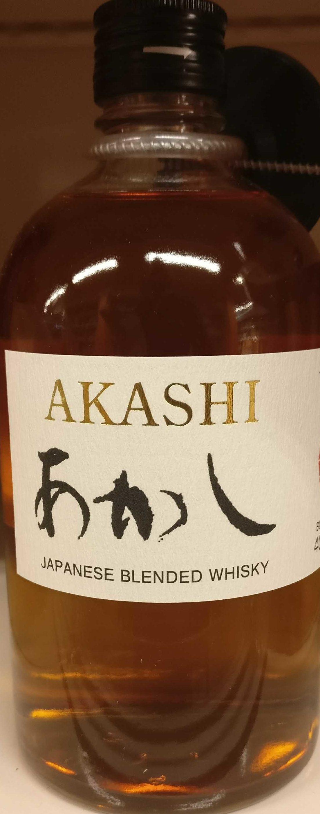 Akashi Blend Whisky - Product
