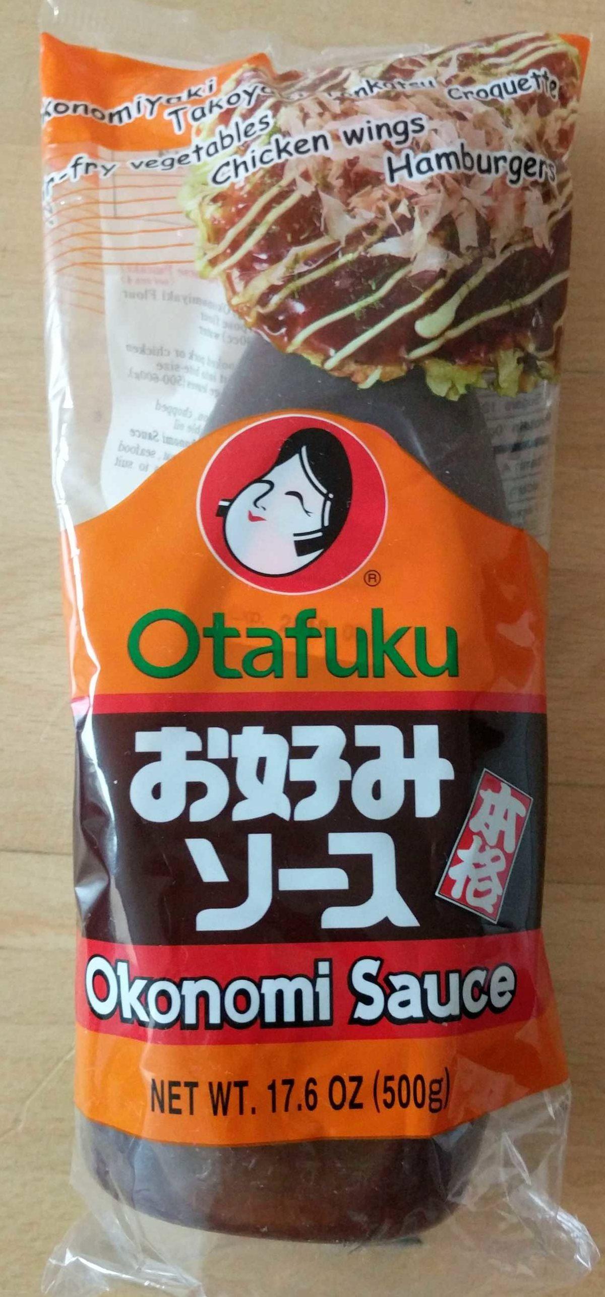 Okonomi Sauce - Product