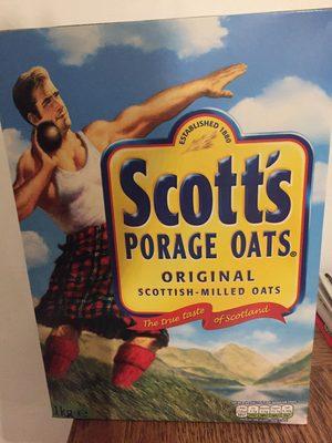 Scott's Porage Oats Original 1000g - Product - en