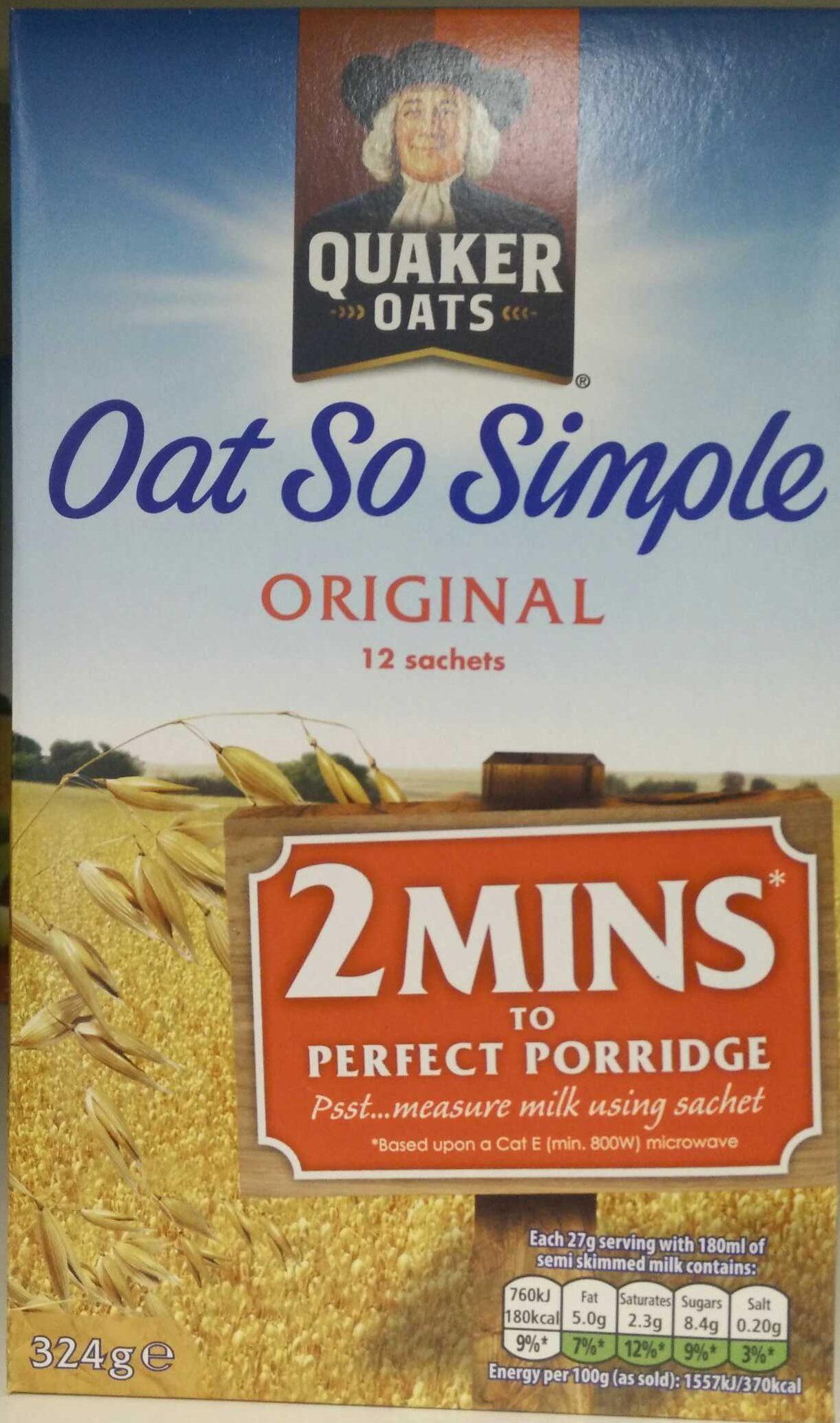 Oat So Simple Original - Produit - fr