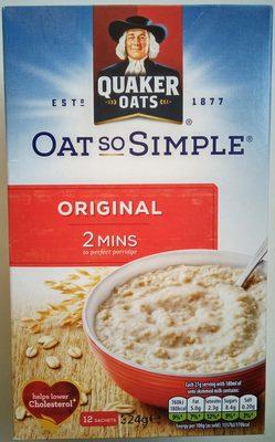Oat So Simple Original - Производ - sr