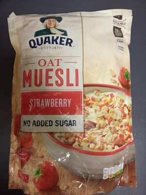 Quaker OAT MUESLY Strawberry - Product