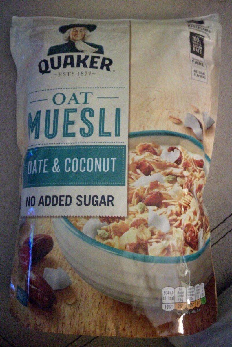 Date & Coconut Muesli - Produto - es