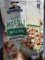 Oat muesli nuts and seeds - Producto - fr