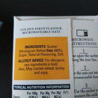 Golden syrup flavour - Product - en