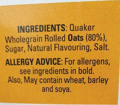 Golden syrup flavour - Ingredients - en