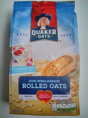 Quaker Traditional Oats 500G Bag - Produit