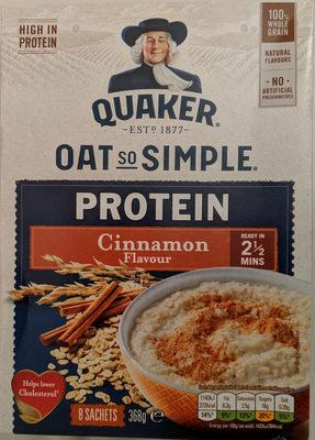 Oat so Simple Protein Cinnamon - Produit