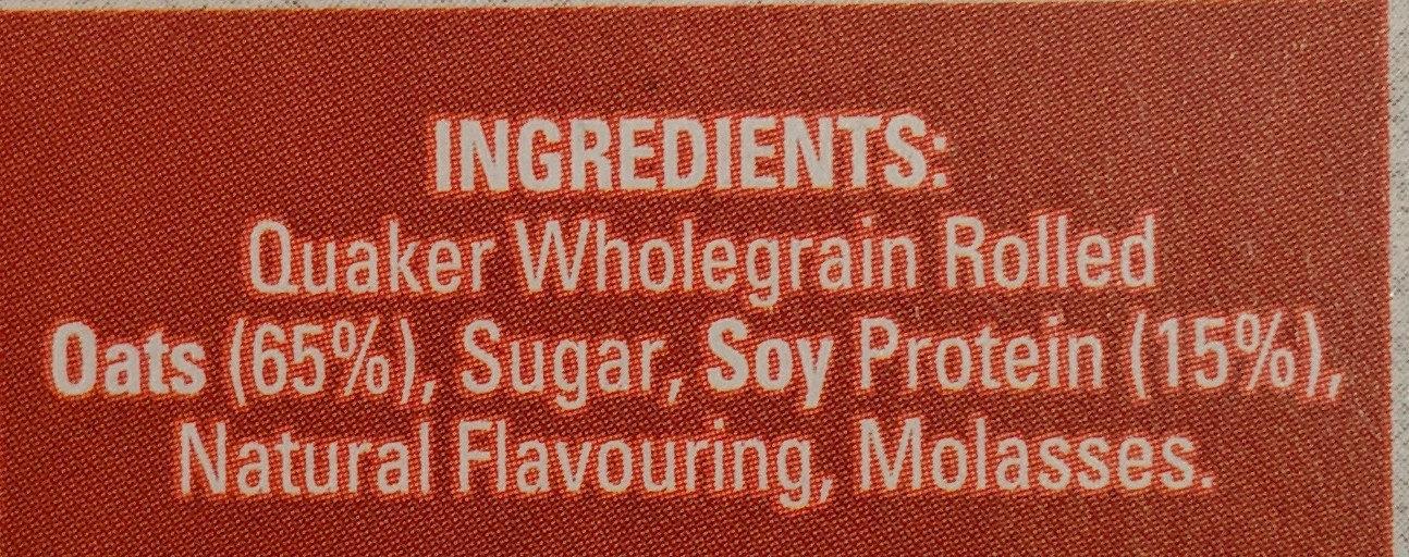 Oat so Simple Protein Cinnamon - Ingrédients