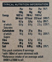 Oat so Simple Protein Cinnamon - Informations nutritionnelles