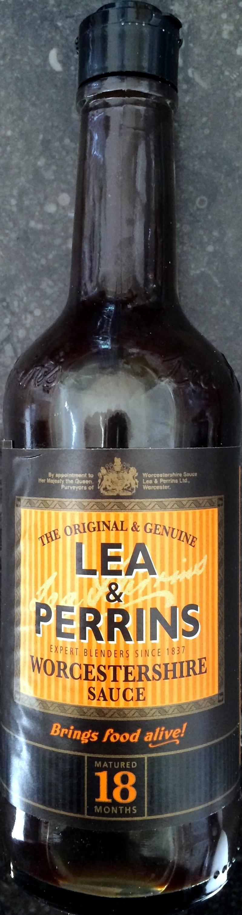 Worcestershire sauce - Produit - fr
