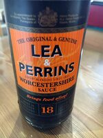 Worcestershire sauce - Product - es