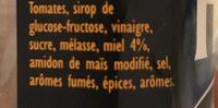 HP Honey Woodsmoke BBQ Sauce - Ingredientes - fr