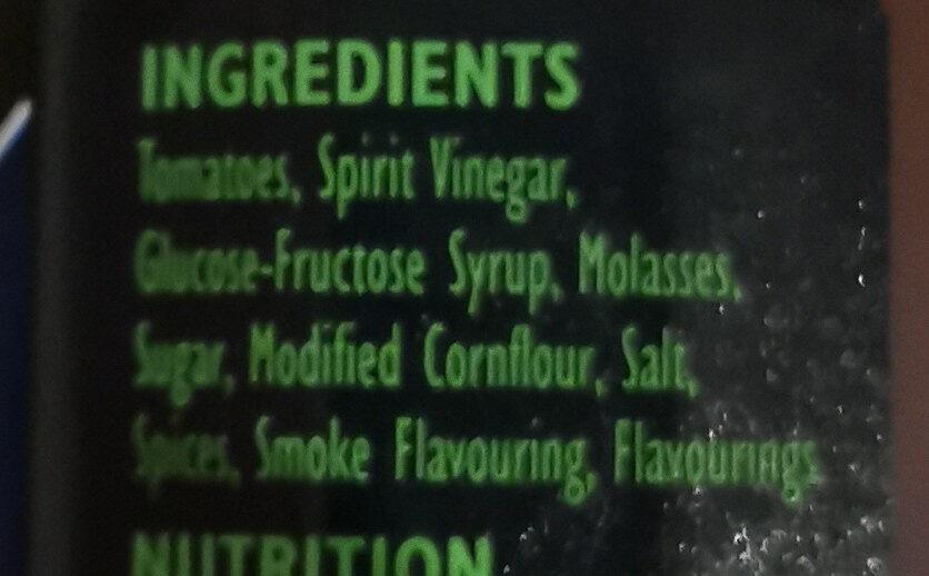HP Classic BBQ Sauce - Ingredients - en