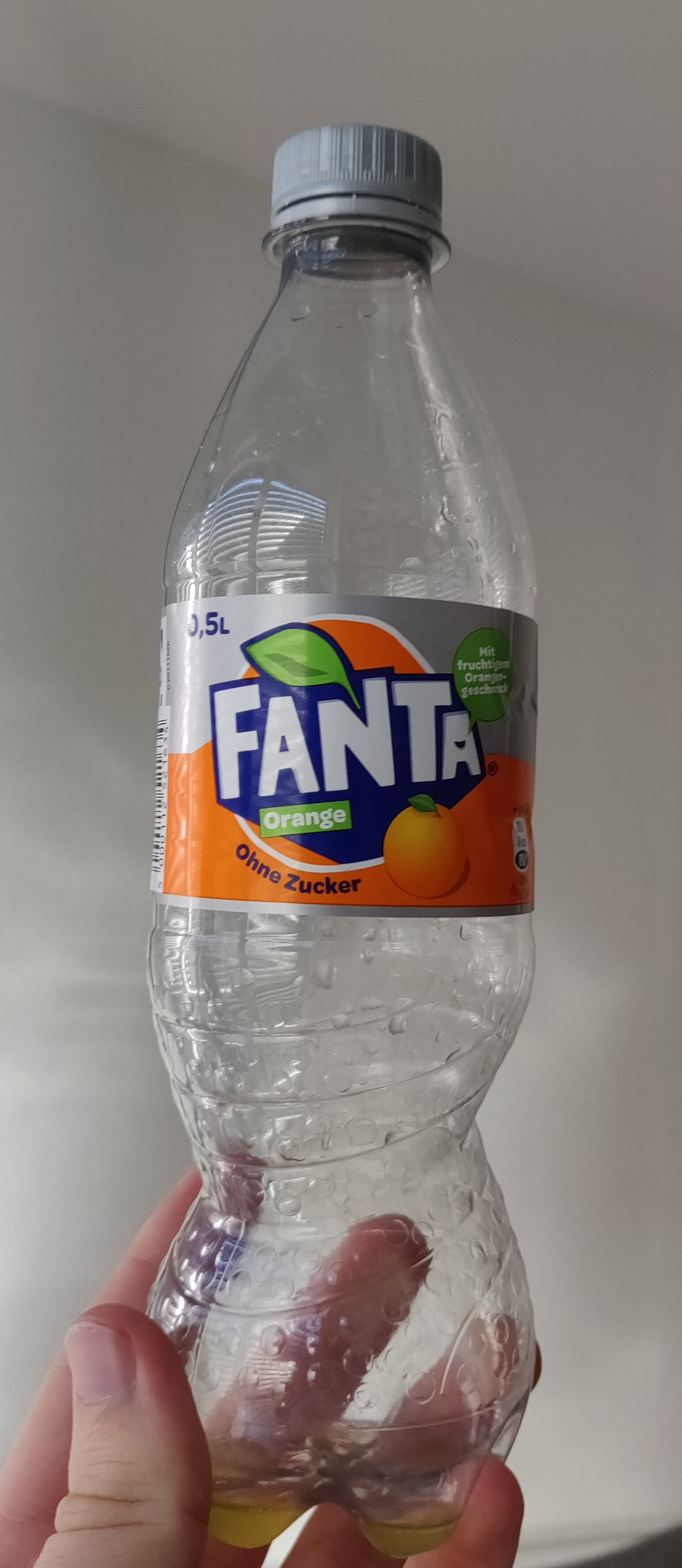 Fanta Orange ohne Zucker - Produit