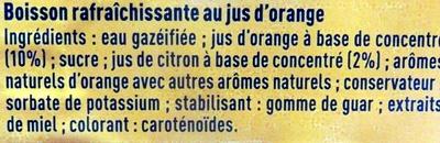 Fanta Orange - Ingrédients - fr