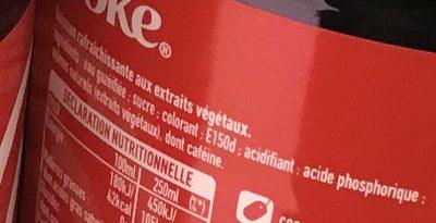 Boisson rafraîchissante aux extraits végétaux - Ingredienti - fr