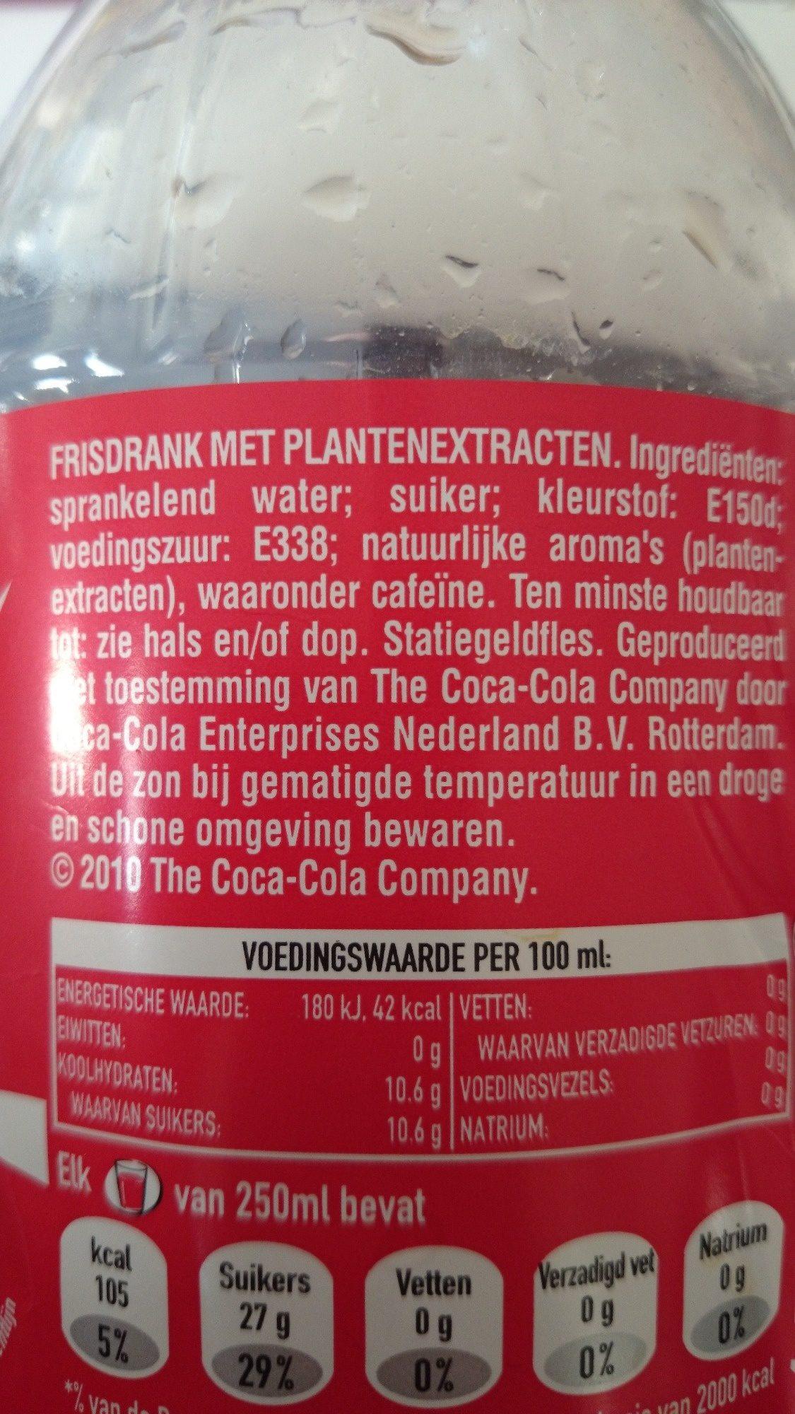 Cola Regular - Coca-cola - 1.5 Liters - Product - nl