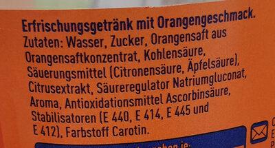 Fanta Orange - Ingrédients - de