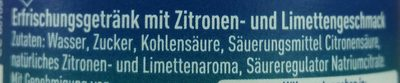 Sprite - Ingredients