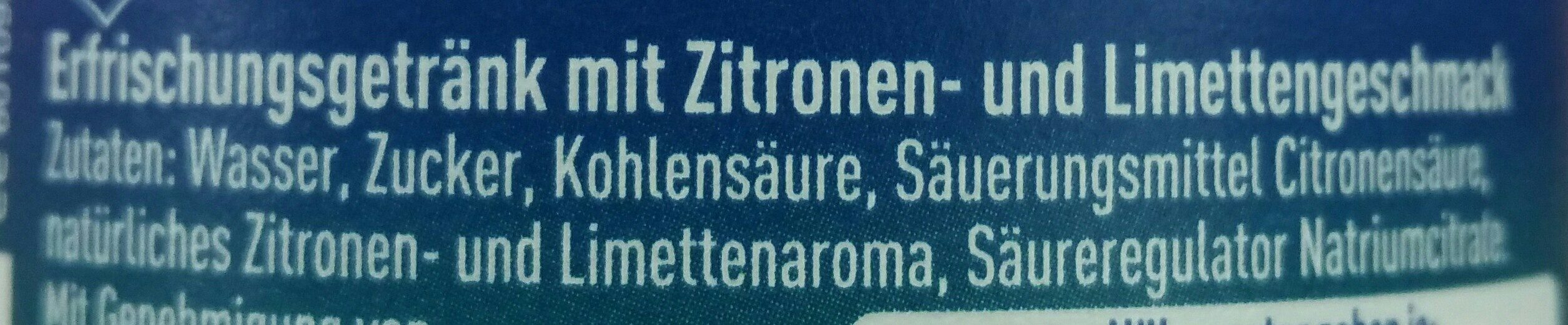 Zitrone, Limonade, Pet - Ingredientes - fr