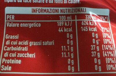 Lattina - Informations nutritionnelles - fr