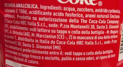 Coca-Cola - Ingredienti