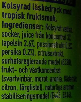 Fanta Exotic - Ingredients