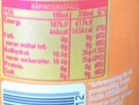 MER Apelsin - Valori nutrizionali - sv