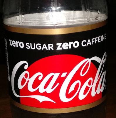 Coca-Cola Zero sugar Zero Caffeine - Product - nl